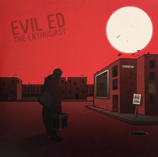 Evil Ed - The Enthusiast (LP) (EX/VG)